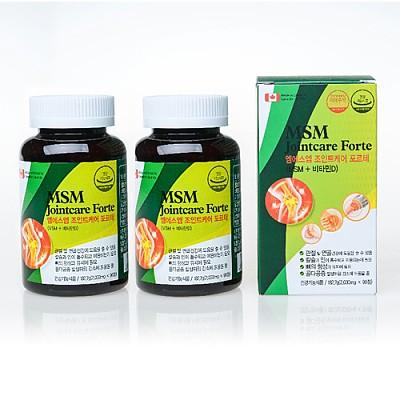 제약회사 MSM+비타민D 180정(90정*2통/1일1정/6개월분)
