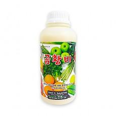 친환경 발효나노유황 유기농 생육자재 금황비 (1리터)